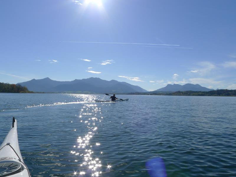 Geführte Kajaktour zur Herreninsel
