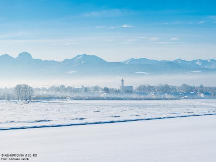 """Winterzauber: """" Eingeheizt & Abgefüllt"""" - Romantische Fackelwanderung"""