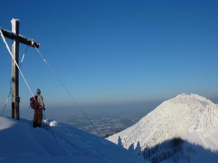 Feichteck - leichte Schneeschuhtour über´m Chiemgau | für Einsteiger