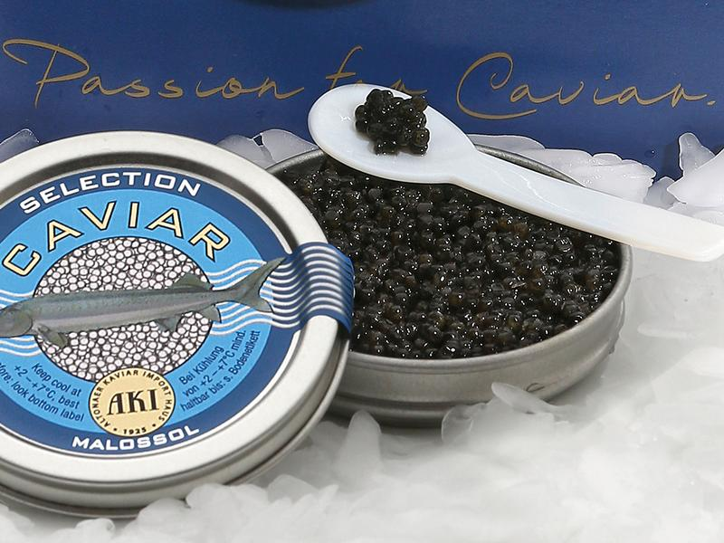 Kaviar-Dinner im Hotel Das Lindner