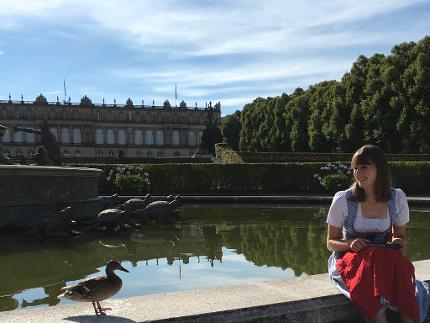 Familien auf Entdeckungstour – im Schlosspark Herrenchiemsee