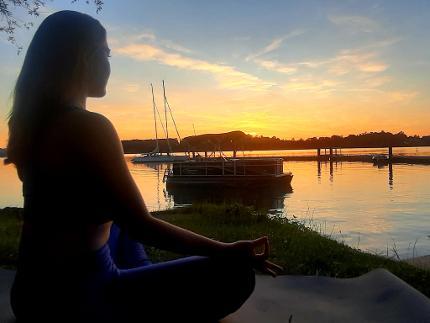 """""""Mein Flow-Erlebnis"""" - zur Meditation auf den Chiemsee"""
