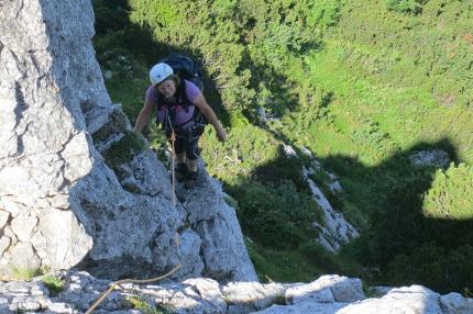 Einsteigerkurs Klettersteig - die Basics des Klettersteig gehens