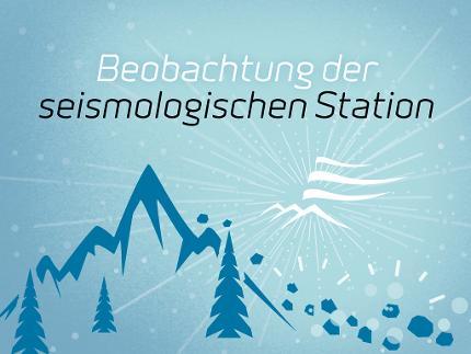 Beobachtung der seismologischen Station