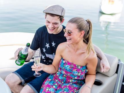 Romantische Bootstour für 2 auf dem Chiemsee (18.30 Uhr)