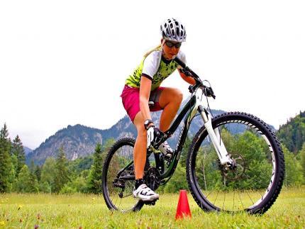 Mountainbike - Fahrtechnikkurs für Einsteiger