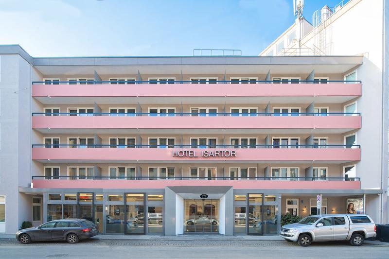 Aussenansicht / Urheber: Hotel Isartor / Rechteinhaber: © Hotel Isartor