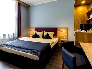 Double Room Business / Author: Comfort Hotel Frankfurt City Center / Copyright holder: © Comfort Hotel Frankfurt City Center