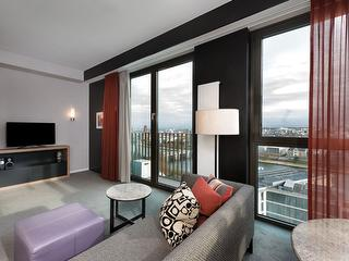 1-Bedroom Apartment / Urheber: Adina Apartment Hotel Frankfurt Neue Oper / Rechteinhaber: © Adina Apartment Hotel Frankfurt Neue Oper