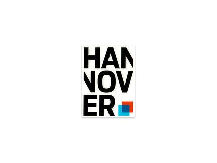 "Aufkleber ""Logo Hannover"""