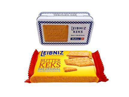 Nostalgische Leibniz Butterkeksdose