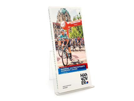 Radwege- und Freizeitkarte