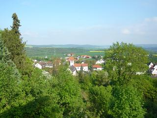 Blick auf  Stadt Waldeck