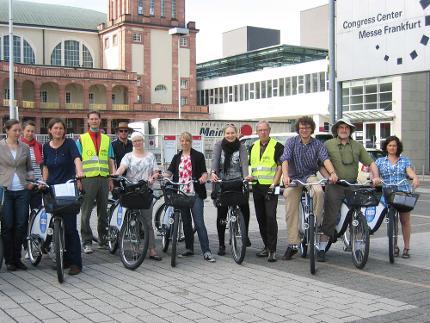 Frankfurt per Rad entdecken