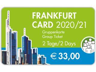 Frankfurt Card 2018/2019 / Urheber: #visitfrankfurt