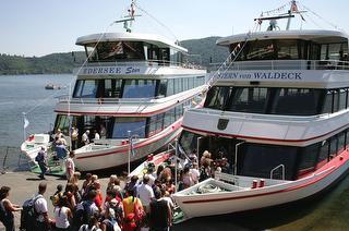 Personenschifffahrt Edersee / Urheber: Personenschifffahrt Edersee GmbH / Rechteinhaber: © Personenschifffahrt Edersee GmbH