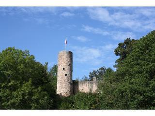 Burg Wallenstein / Urheber: Campingplatz Burg Wallenstein / Rechteinhaber: © Campingplatz Burg Wallenstein