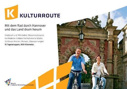 Fahrradkarte Kulturroute