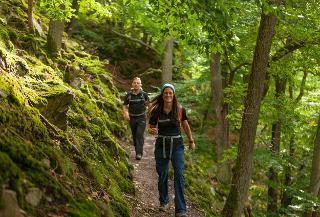 Wanderung auf dem Urwaldsteig Edersee / Urheber: Edersee Touristic GmbH / Rechteinhaber: © Edersee Touristic GmbH