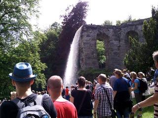 Kassel und die Wasserspiele im Bergpark Wilhelmshöhe / Urheber: Kassel Marketing GmbH / Rechteinhaber: © Kassel Marketing GmbH