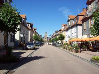 Barocke Schlossstraße in Bad Arolsen / Rechteinhaber: © Touristik-Service Bad Arolsen