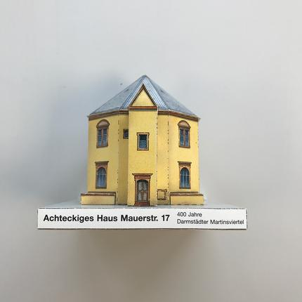 Bastelbogen: Darmstadts Architektur