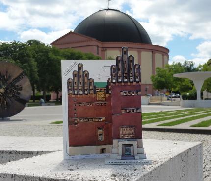 Bastelbogen: Darmstadts Sehenswürdigkeiten