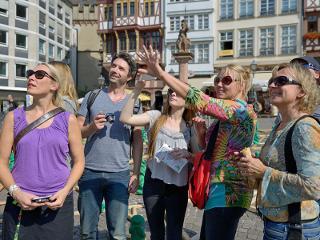 Frankfurt-Rundgang / Urheber: Holger Ullmann / Rechteinhaber: © Tourismus+Congress GmbH Frankfurt am Main