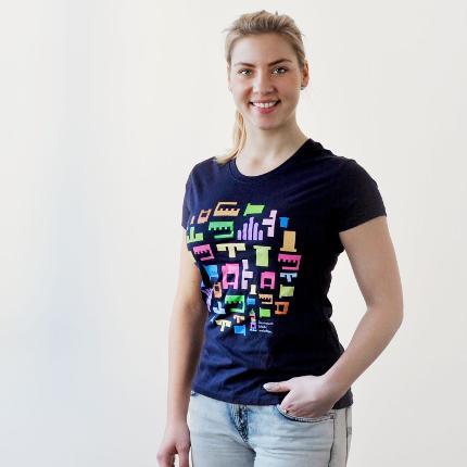 """T-Shirt """"Darmstadt bleibt weltoffen"""" für Damen"""