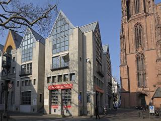 Architektur in Frankfurt zu Fuß