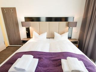 Double room / Author: Goethe Hotel Conference / Copyright holder: © Goethe Hotel Conference
