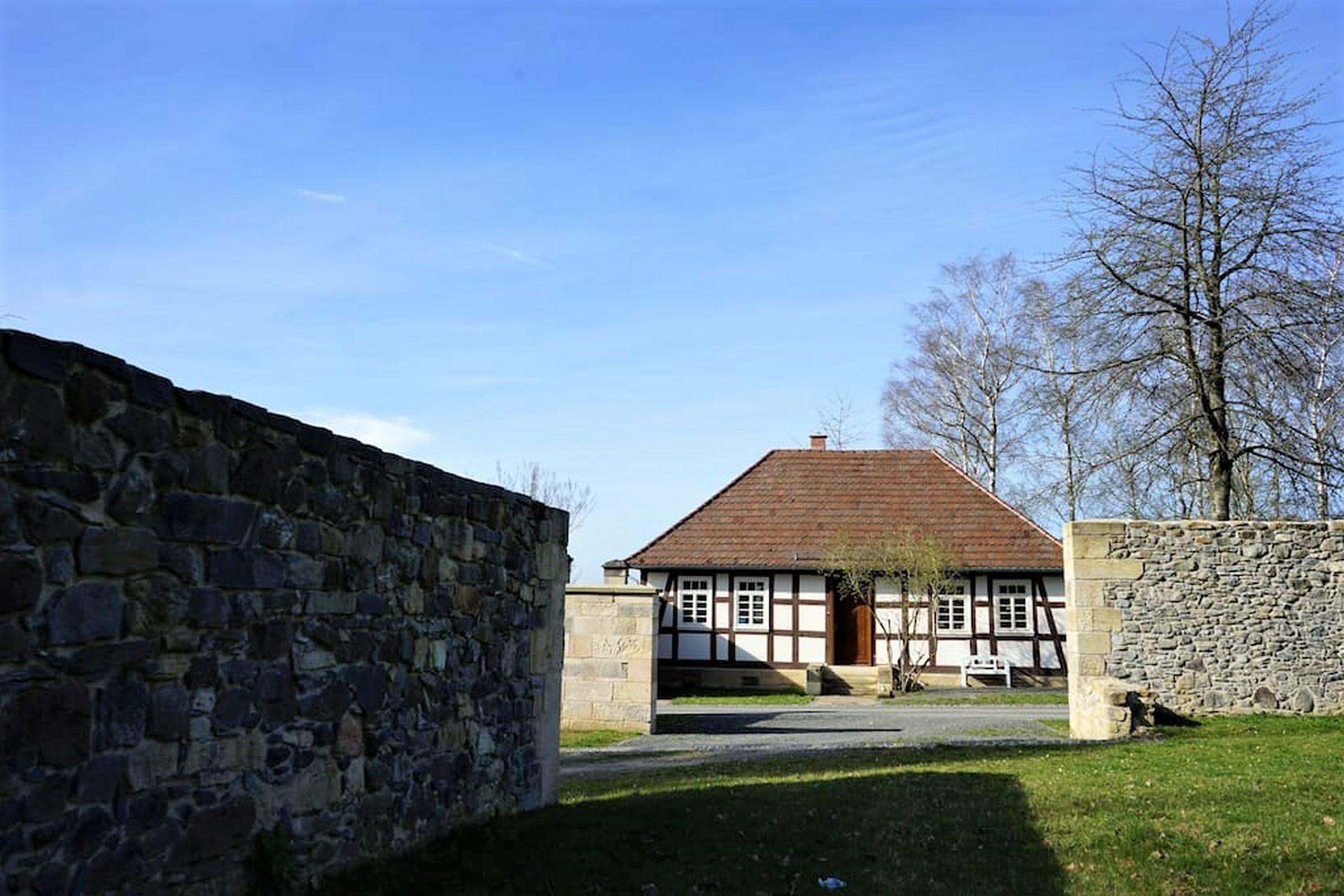 Ferienhaus Gutshof Gästehaus (Frielendorf). Historisches Schäferhaus, 70qm, Terrasse, 1 Schlafzimmer, (2546851), Frielendorf, Nordhessen, Hessen, Deutschland, Bild 5