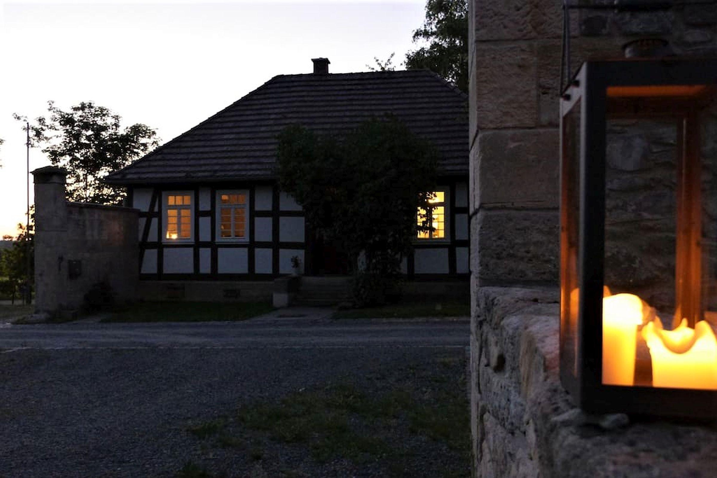 Ferienhaus Gutshof Gästehaus (Frielendorf). Historisches Schäferhaus, 70qm, Terrasse, 1 Schlafzimmer, (2546851), Frielendorf, Nordhessen, Hessen, Deutschland, Bild 7