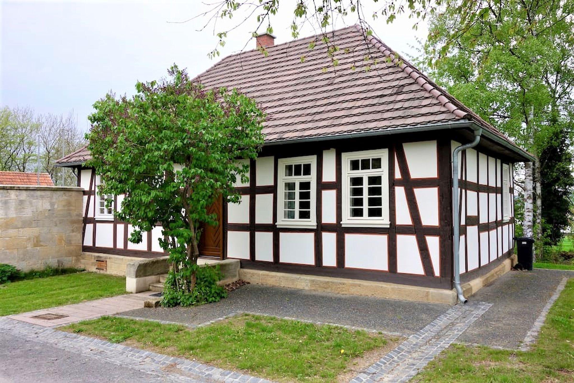 Ferienhaus Gutshof Gästehaus (Frielendorf). Historisches Schäferhaus, 70qm, Terrasse, 1 Schlafzimmer, (2546851), Frielendorf, Nordhessen, Hessen, Deutschland, Bild 9