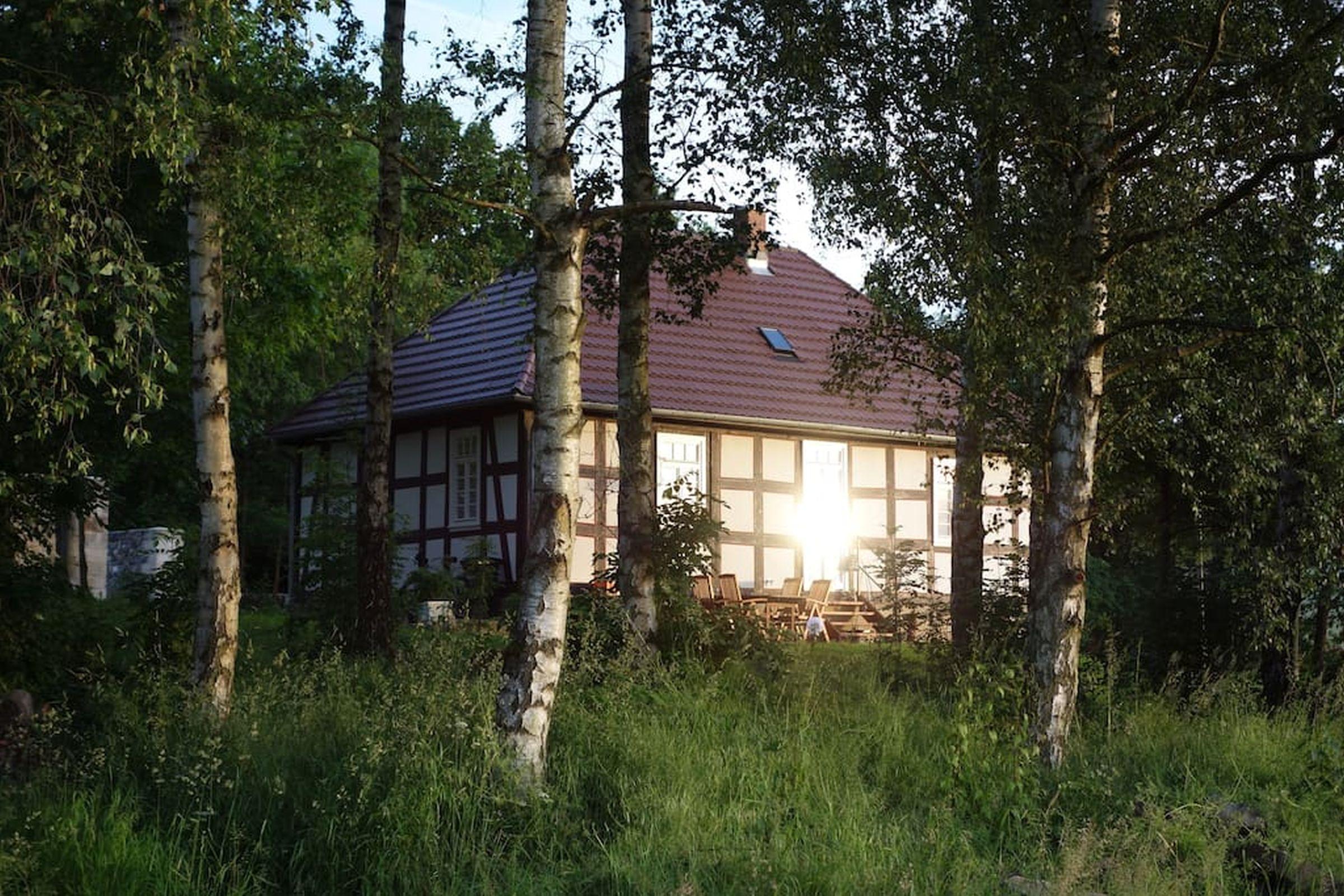 Ferienhaus Gutshof Gästehaus (Frielendorf). Historisches Schäferhaus, 70qm, Terrasse, 1 Schlafzimmer, (2546851), Frielendorf, Nordhessen, Hessen, Deutschland, Bild 12