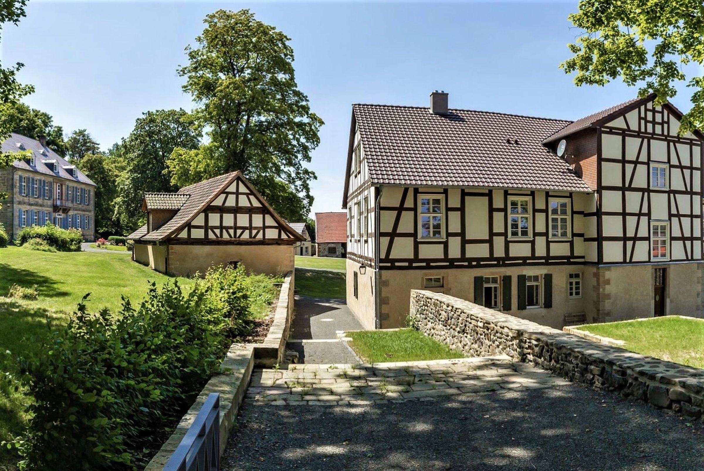 Ferienhaus Gutshof Gästehaus (Frielendorf). Historisches Schäferhaus, 70qm, Terrasse, 1 Schlafzimmer, (2546851), Frielendorf, Nordhessen, Hessen, Deutschland, Bild 11