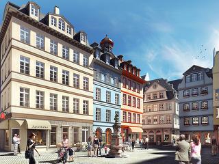DomRömer-Quartier / Urheber: DomRömer GmbH / Rechteinhaber: © DomRömer GmbH