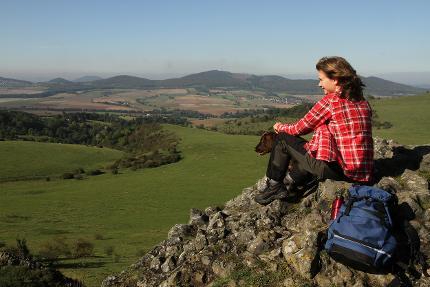 Wandern ohne Gepäck auf den Schwingen des Habichts