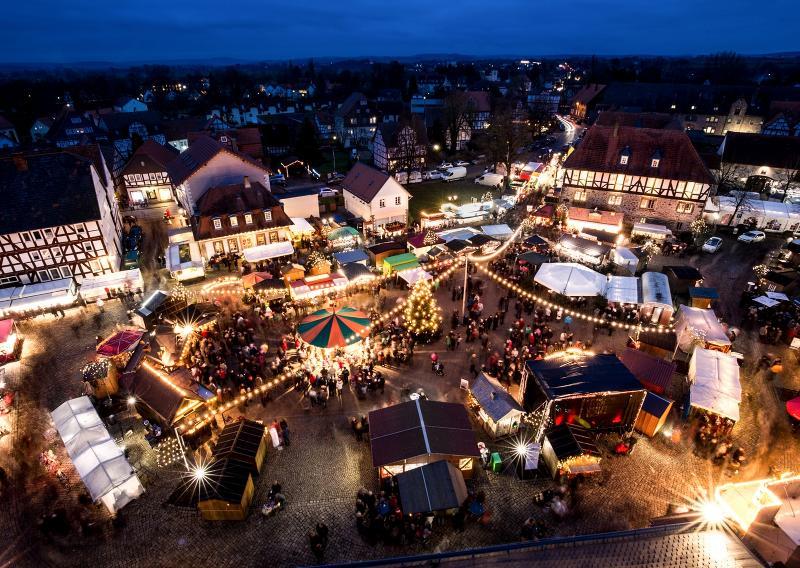 Weihnachtsmarkt Melsungen.Schwälmer Weihnachtsmarkt Tourismusregion Melsunger Land