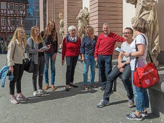Führung in Frankfurts neuer Altstadt / Author: Holger Ullmann / Copyright holder: © #visitfrankfurt