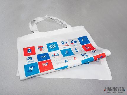 Canvas pouch ABC