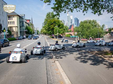 Hotrod Tour Frankfurt, Teamevents, Sightseeing, Incentives