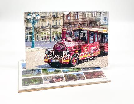 Calendar of Wiesbaden 2022 (small size)