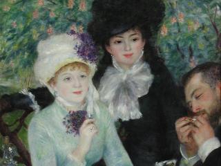Städel Museum / Author: Städel Museum / Copyright holder: © Auguste Renoir, Nach dem Mittagessen (Le fin du déjeuner), 1879, Städel Museum