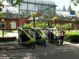 Frankfurt genussvoll erfahren / Rechteinhaber: © Velotaxi Frankfurt
