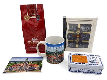 Geschenkpaket *Grüße aus Hannover* inkl. Grußkarte