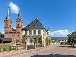 Seligenstadt Kloster / Author: visitrheinmain / Copyright holder: © David-Vasicek