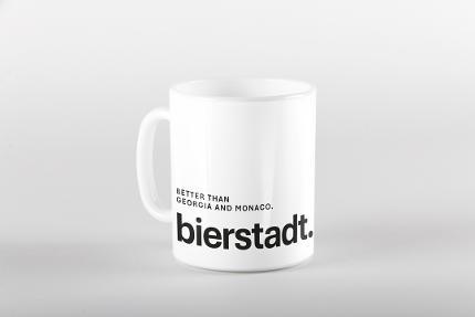 """Kaffeetasse """"Better than Georgia and Monaco."""