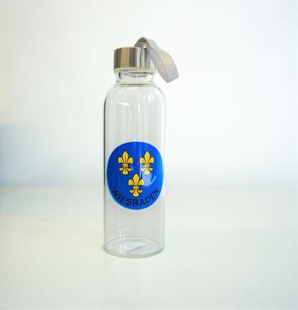 Wiesbaden Glasflasche