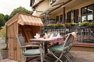 """Terrasse / Urheber: Hotel & Restaurant """"Am Alten Rhin"""" / Rechteinhaber: © Hotel & Restaurant """"Am Alten Rhin"""""""